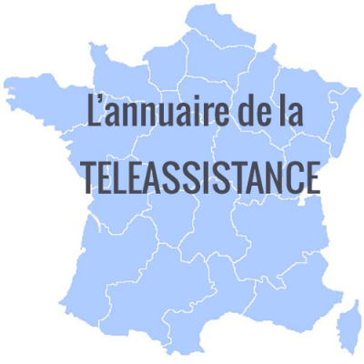 Carte de France Téléassistance