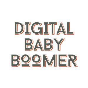 Digital baby boomer Logo