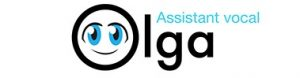 Logo Olga assistant phone vocal