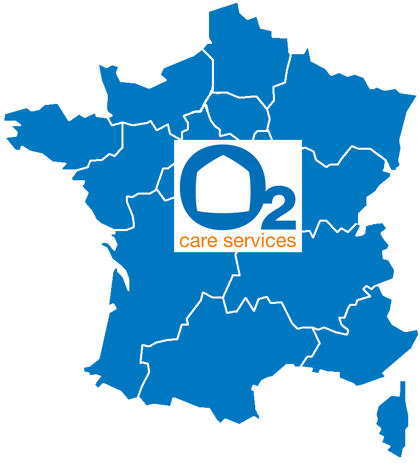 Carte de France O2 Care Services